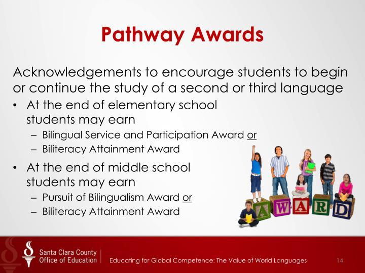 Pathway Awards