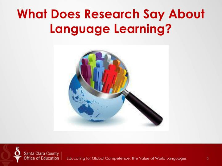 What Does Research Say About Language Learning?