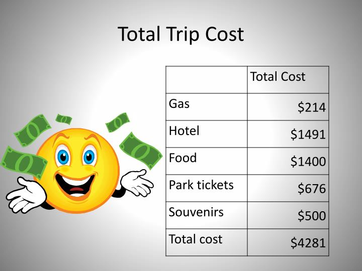 Total Trip Cost