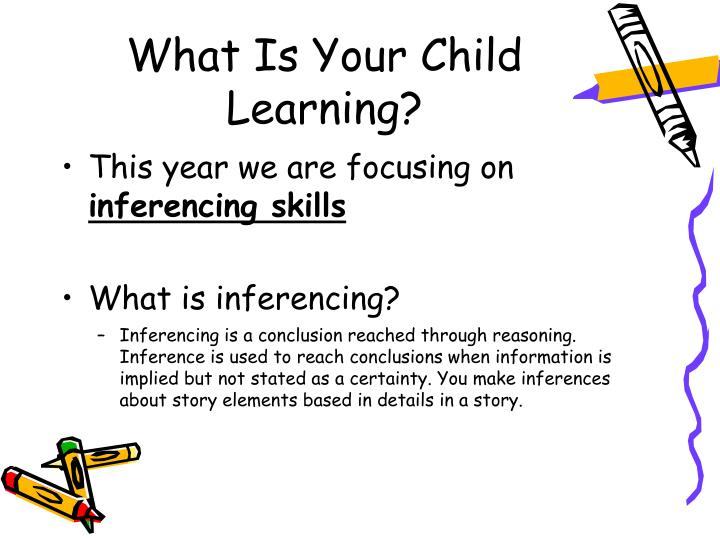 What Is Your Child Learning?