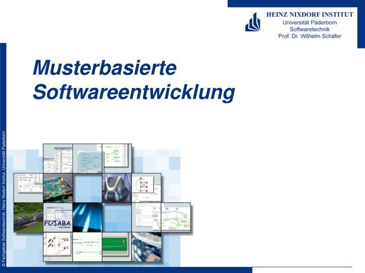Musterbasierte Softwareentwicklung