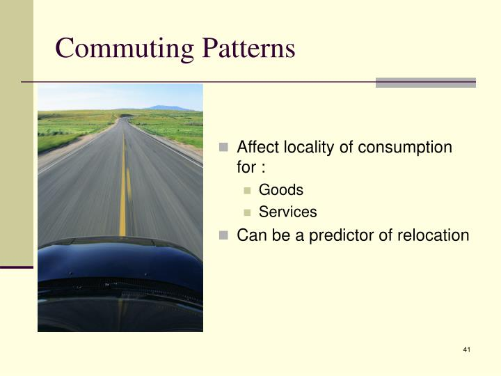 Affect locality of consumption for :