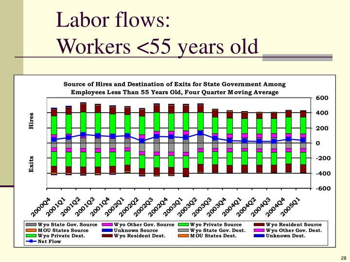 Labor flows: