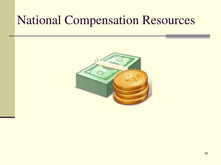 National Compensation Resources