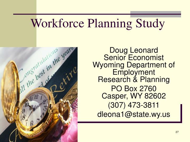 Workforce Planning Study