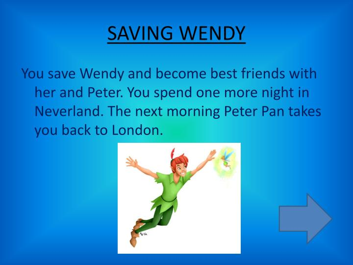 SAVING WENDY