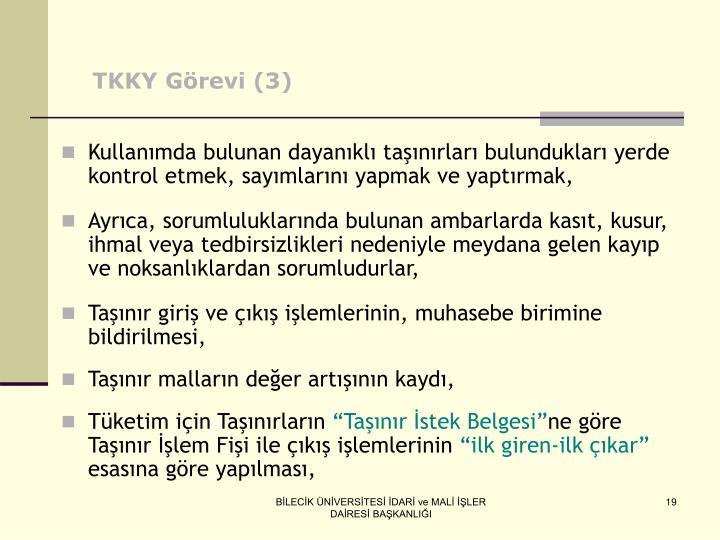 TKKY Görevi (3)
