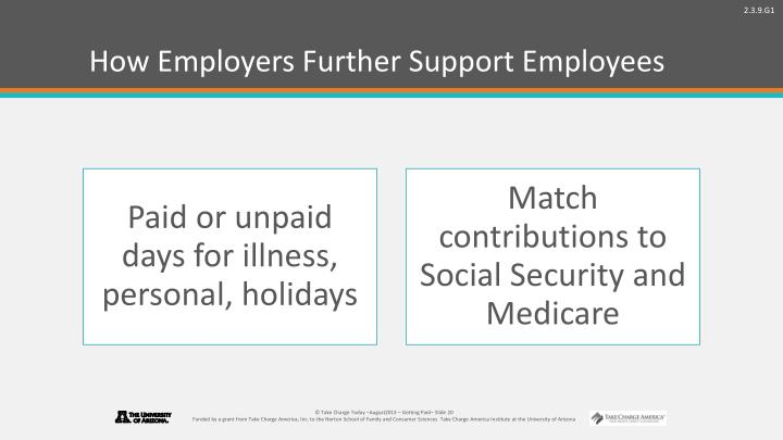 How Employers Further Support Employees