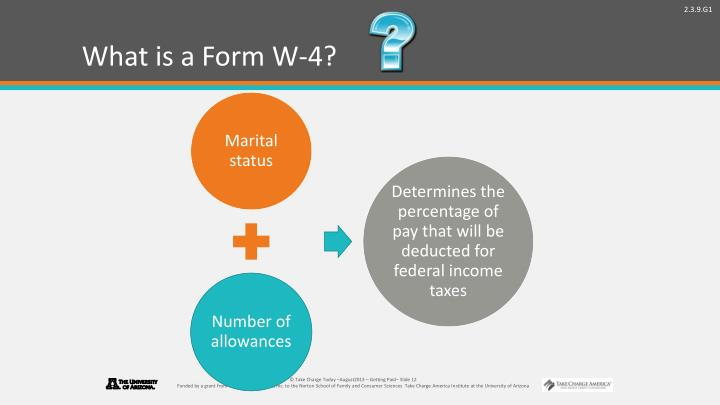 What is a Form W-4?