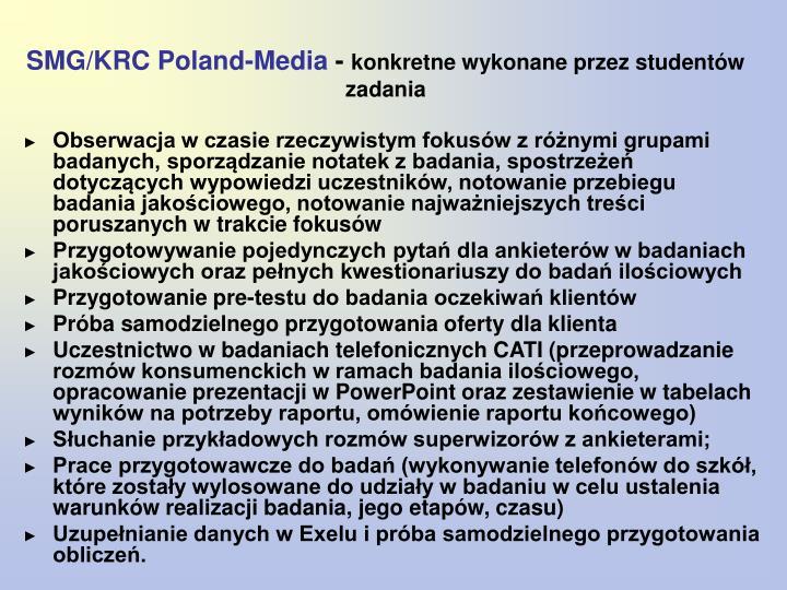 SMG/KRC Poland-Media