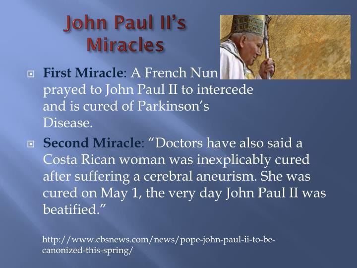 John Paul II's