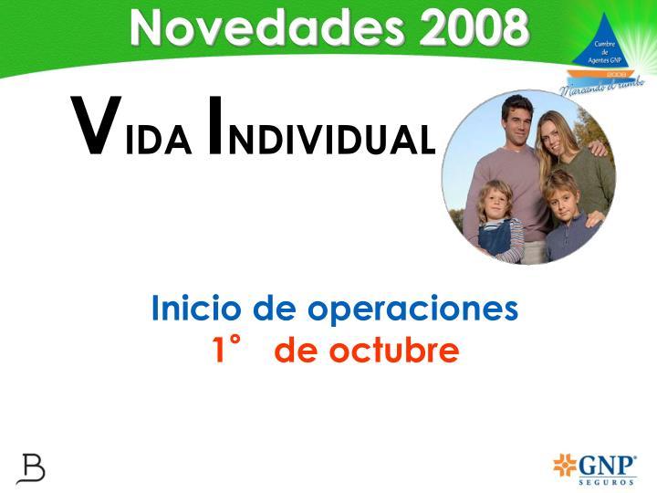 Novedades 2008