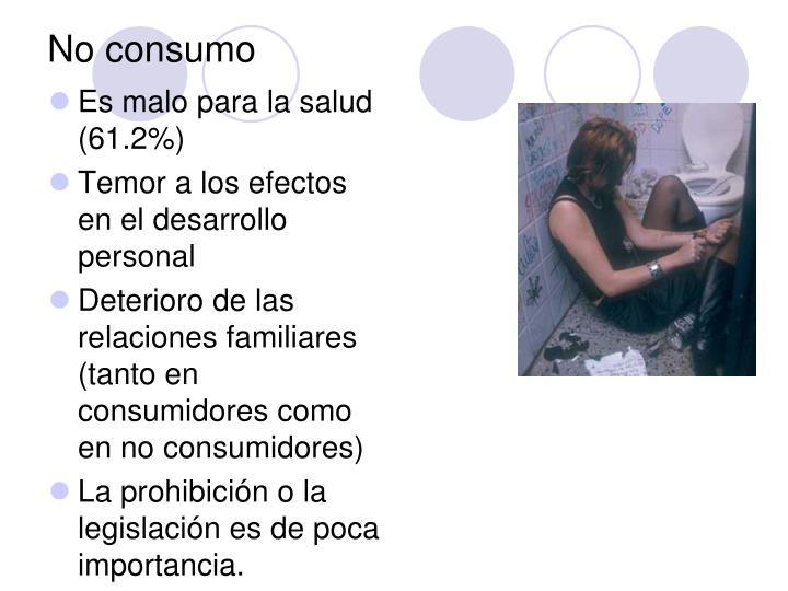 No consumo