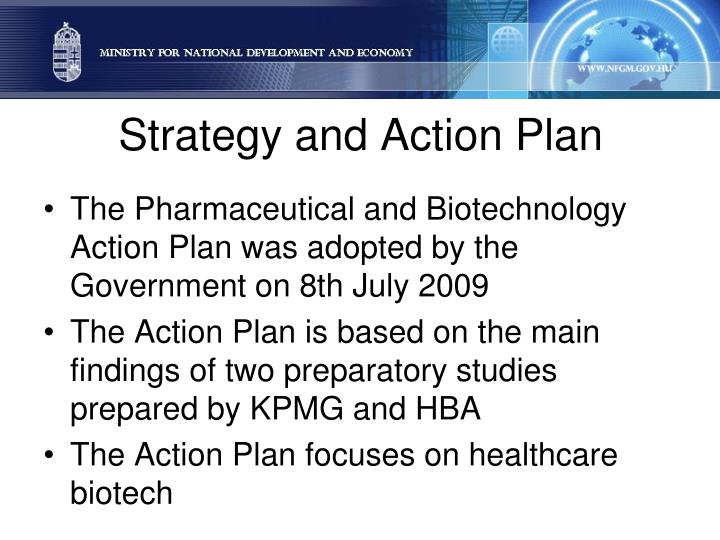 Strategy and Action Plan