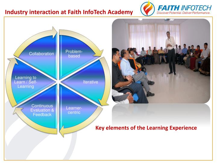 Industry interaction at Faith InfoTech Academy