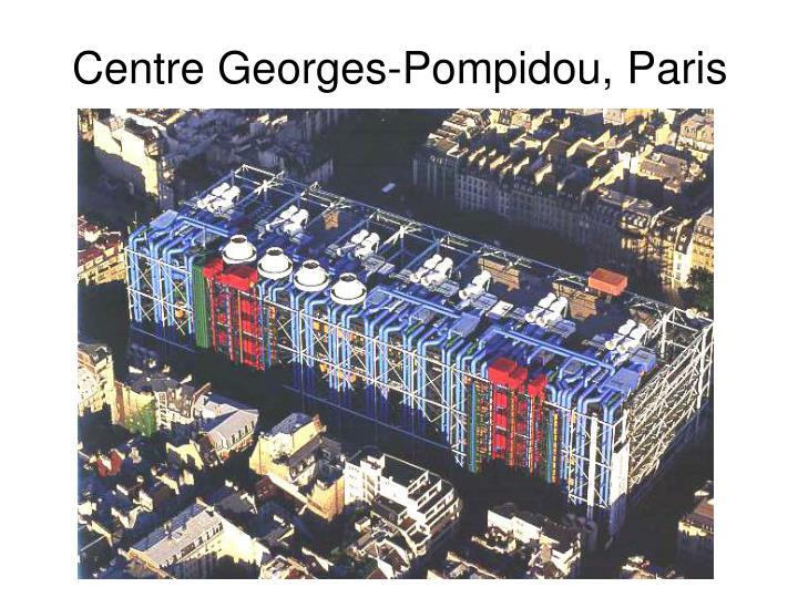 Centre Georges-Pompidou, Paris