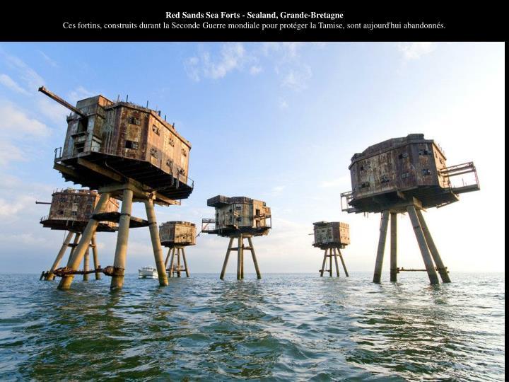 Red Sands Sea Forts - Sealand, Grande-Bretagne