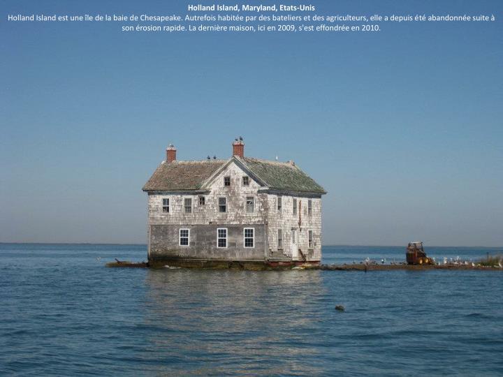Holland Island, Maryland, Etats-Unis