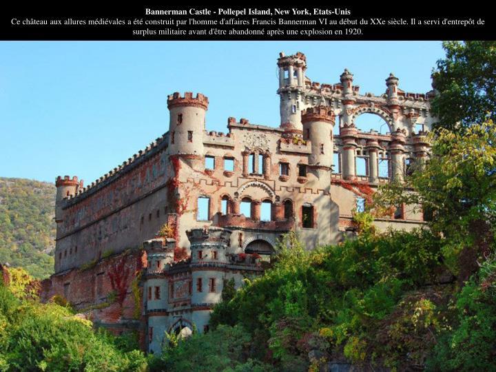 Bannerman Castle - Pollepel Island, New York, Etats-Unis
