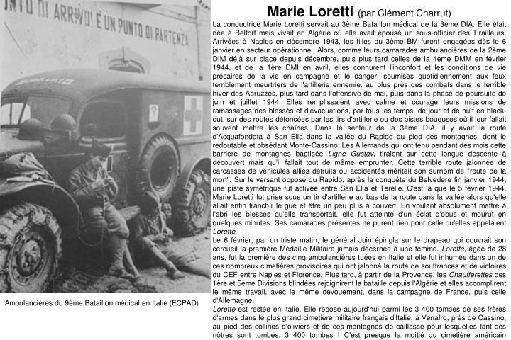 Marie Loretti