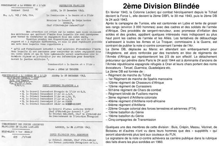 2ème Division Blindée