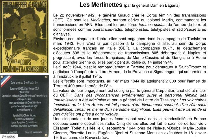 Les Merlinettes