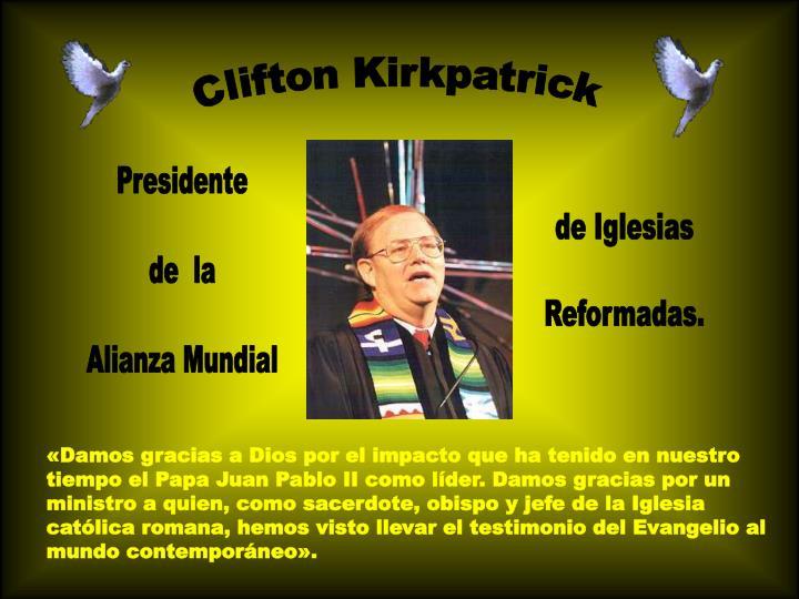 Clifton Kirkpatrick