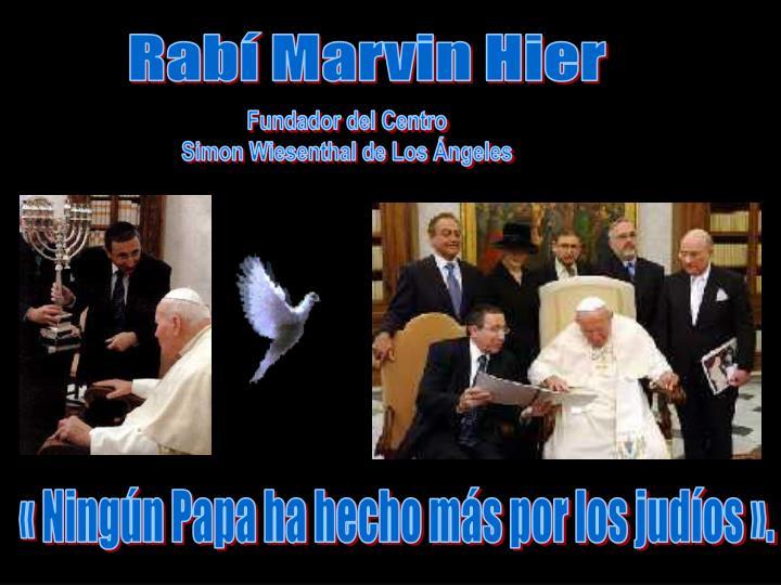 Rabí Marvin Hier