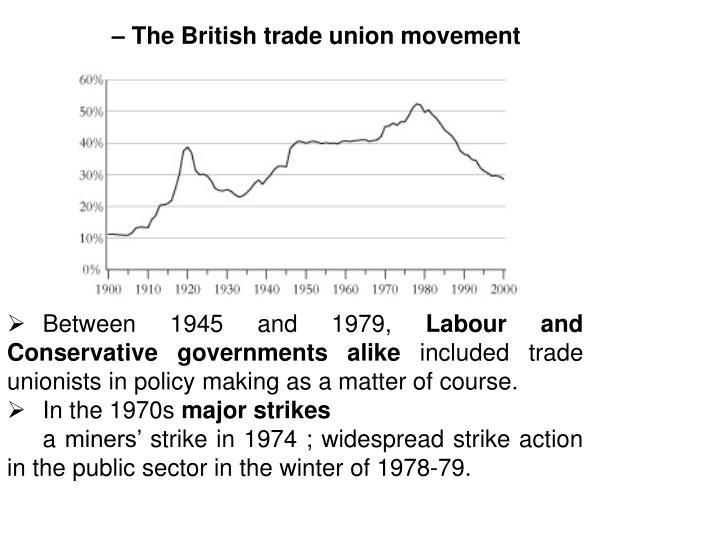 – The British trade union movement