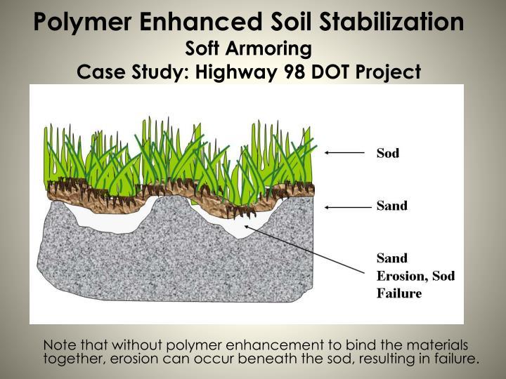 Ppt polymer enhanced soil stabilization powerpoint for Soil stabilization