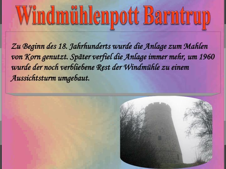 Windmühlenpott Barntrup