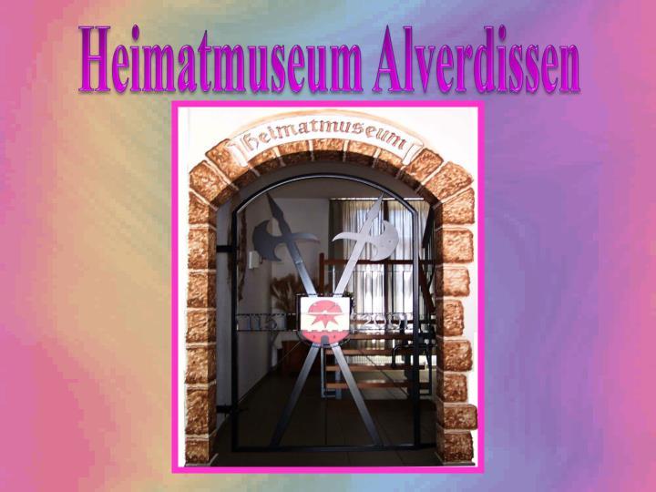 Heimatmuseum Alverdissen