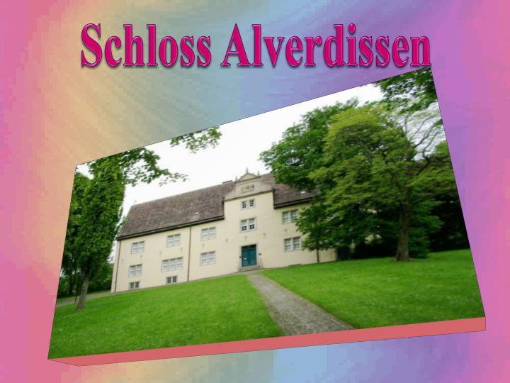Schloss Alverdissen