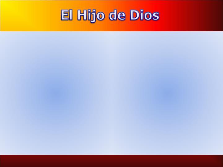 El Hijo de Dios