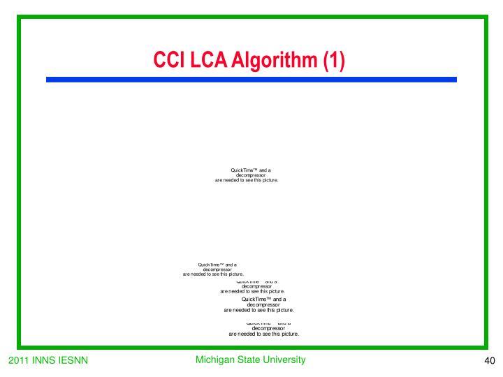 CCI LCA Algorithm (1)