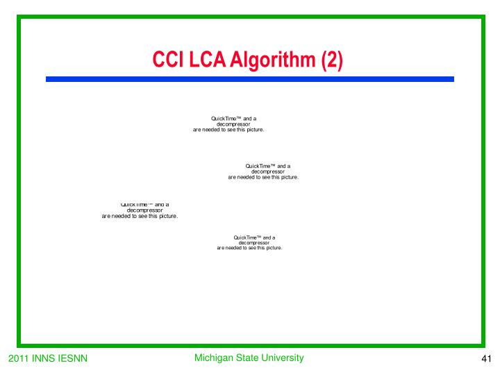 CCI LCA Algorithm (2)