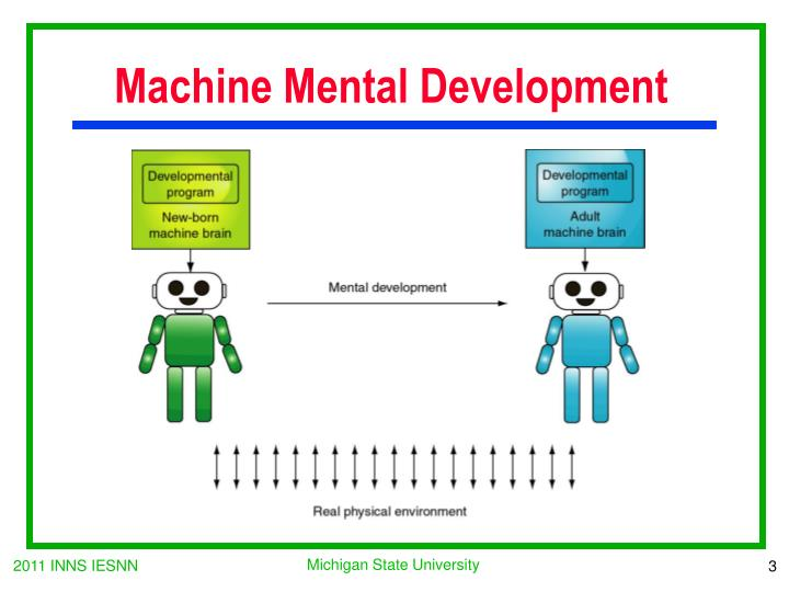 Machine Mental Development
