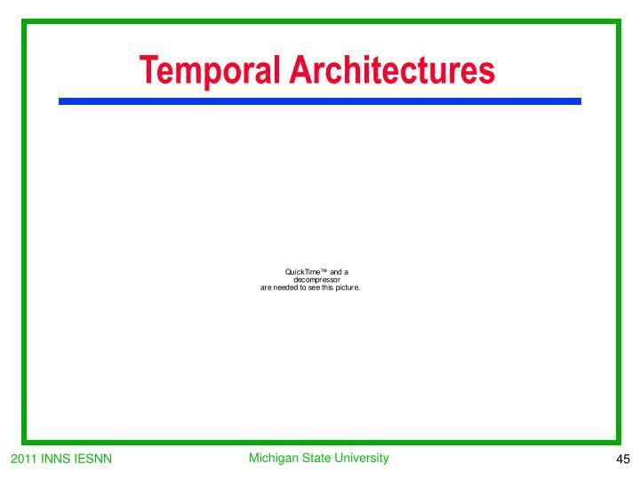Temporal Architectures