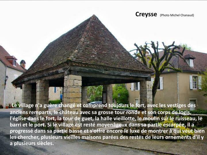 Creysse