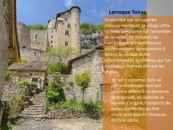 Larroque Toirac
