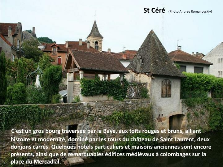 St Céré