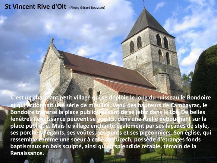 St Vincent Rive d'Olt