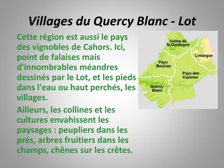 Villages du Quercy Blanc - Lot