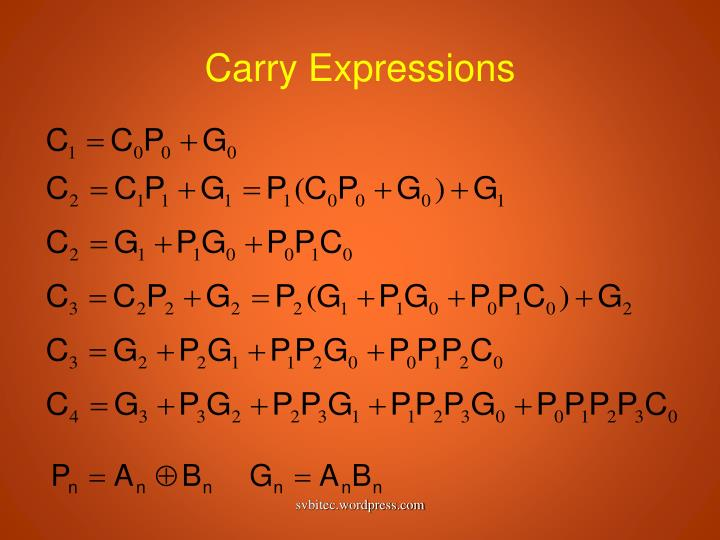 Carry Expressions