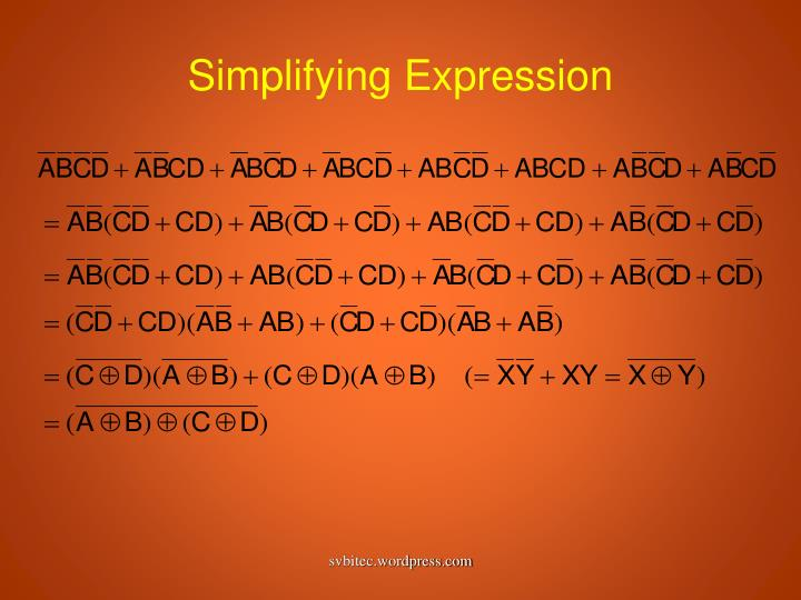 Simplifying Expression
