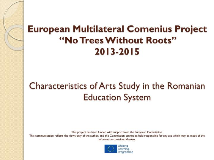 European Multilateral Comenius Project