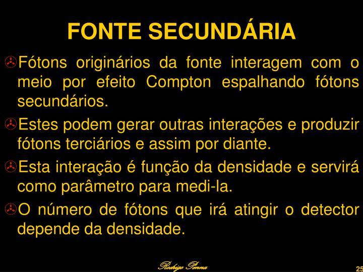 FONTE SECUNDÁRIA