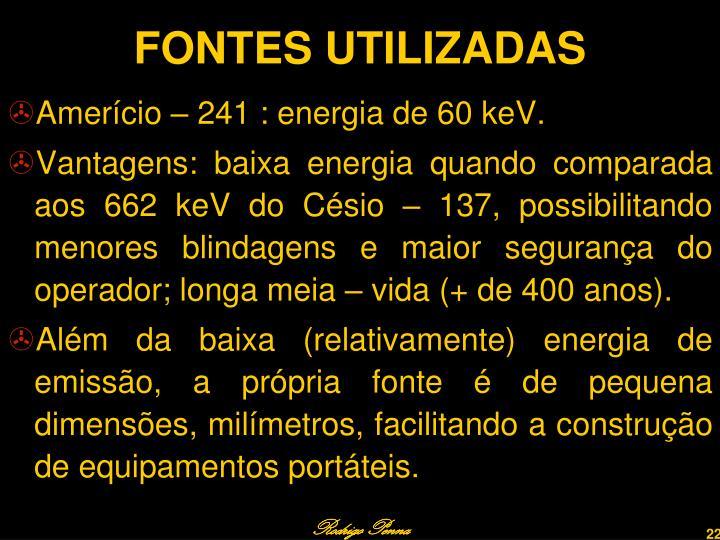 FONTES UTILIZADAS