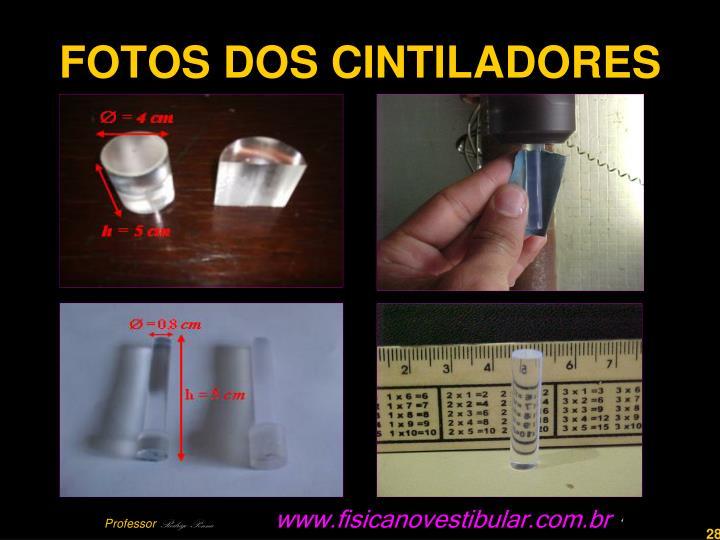 FOTOS DOS CINTILADORES