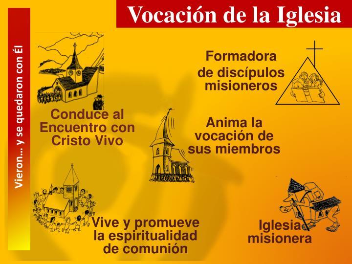 Vocación de la Iglesia